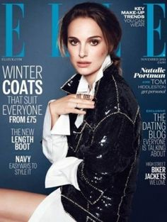 Natalie Portman voor ELLE UK november 2013