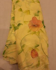 Trendy Sarees, Stylish Sarees, Fancy Sarees, Party Wear Sarees, Floral Print Sarees, Saree Floral, Chiffon Saree, Saree Dress, Silk Sarees
