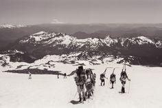 Ascent to Camp Muir - Mt Rainier