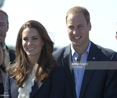 Prince William, Duke of Cambridge and Catherine, Duchess of Cambridge depart from Yellowknife airport on July 6, 2011 in Yellowknife, Canada.