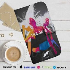 Avicii The Days Leather Wallet iPhone 4/4S 5S/C 6/6S Plus 7  Samsung Galaxy S4 S5 S6 S7 NOTE 3 4 5  LG G2 G3 G4  MOTOROLA MOTO X X2 NEXUS 6  SONY Z3 Z4 MINI  HTC ONE X M7 M8 M9 CASE