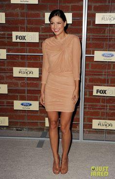 Melissa Benoist at Fox's Fall Eco-Casino party in Culver City-California, September 2012