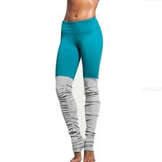 Women's Elastic Rib Yoga Leggings