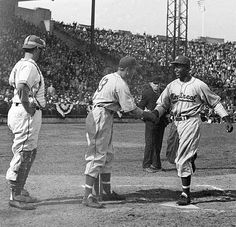 Jersey City (Hudson County) - It's well-known that Jackie Robinson made his Major League debut playing for the Brooklyn Dodgers. Less known is that he first broke the color barrier playing at Roosevelt Stadium with the Montreal Royals on August 18, 1946.