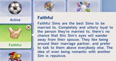 My Sims 4 Blog: Faithful Trait by Verysimmly