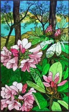 I really enjoy Oddy's artistic style. Robert Oddy | Stained Glass Artist