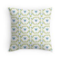 #FolkArt #Flowers #Pillow