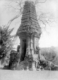 Candi Bajang Ratu, Trowulan, 1929