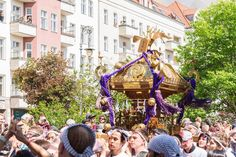 #press japamese #mikoshi at #karnevalderkulturen in #berlin #神輿  #kdk