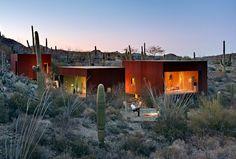Desert Nomad House by Rick Joy Architect