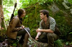 hunger games | Katniss & Gale.