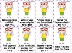 Speechie Freebies: Granny Says!
