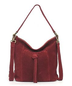 Wanted to Love this Lucky Beet Suede Carmen Bucket bag but it had to go back- stained my clothes :(