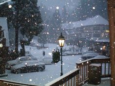 Lake Arrowhead Village in the snow. just Love these old style lights too. Why idk but I see some old world styles and nature and my heart feels happy and sighs. Looks beautiful and feels so beautiful! Lake Arrowhead Village, California Dreamin', California Mountains, San Bernardino Mountains, Mountain Vacations, Holiday Pictures, West Lake, Cozy Cottage, Beautiful Places