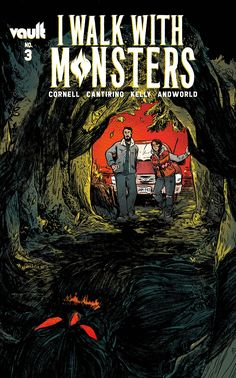 """I Walk With Monsters is a gripping read from start to finish. It's as inspiring as it is terrifying."" James reviews I Walk With Monsters #3 from Vault Comics. Comic Covers, Monsters, Novels, Comic Books, Comics, Movie Posters, Comic Strips, Film Poster, Popcorn Posters"