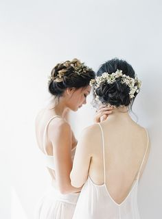 Jen Huang Photo   Chiali Meng Artistry   Shop Gossamer Stylish Wedding Hair Ideas and Bridal Beauty Tips