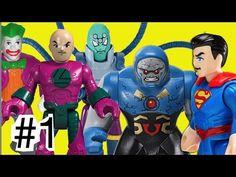 #1 Super Homem Superman X Darkseid Brainiac Lex Luthor Coringa Joker Leg...