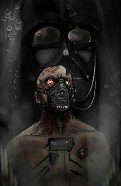 THE MAKING OF DARTH VADER Anakin Darth Vader, Anakin Obi Wan, Anakin Skywalker, Star Wars Memorabilia, Vader Star Wars, Star Wars Fan Art, Star Wars Characters, Science Fiction, Pop Culture