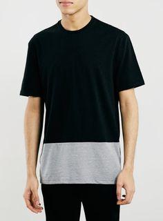 Panel Printed Jaded Shirt Fashion Brands T TopmanModern c1JlF3TK