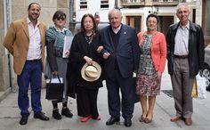 A escritora brasileira Nélida Piñón, académica de honra, visita a Real Academia Galega:  #NélidaPiñón #Galicia #RAG