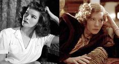 The Great Katharine Hepburn: Cate Blanchett as Kate Hepburn in THE AVIATOR (2004)