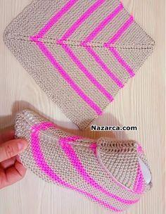 Crochet Socks Lace Yarns Ideas For 2019 Knitting Socks, Knitting Stitches, Knitting Patterns Free, Free Knitting, Baby Knitting, Crochet Patterns, Crochet Ripple, Crochet Baby, Knit Crochet