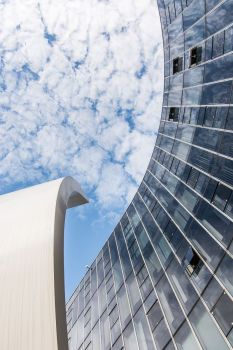 Siège du Parti Communiste. Architecte : Oscar Niemeyer