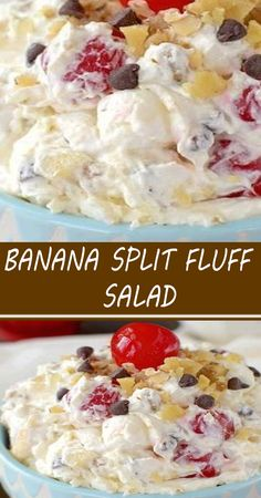 Fluff Desserts, Cold Desserts, Sweet Desserts, Easy Desserts, Sweet Recipes, Delicious Desserts, Yummy Food, Summer Desserts, Tasty