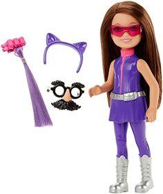 Barbie Spy Squad Junior Agent Doll, Purple