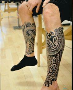 Jean Michel Manutea #samoantattoosleg #samoantattoosdesigns #maoritattoosmen