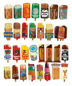 Popsicles and #packaging
