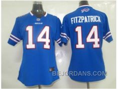 http://www.bejordans.com/free-shipping-60-off-nike-women-nfl-jerseys-buffalo-bills-14-fitzpatrick-blue.html FREE SHIPPING ! 60% OFF! NIKE WOMEN NFL JERSEYS BUFFALO BILLS #14 FITZPATRICK BLUE Only $20.00 , Free Shipping!