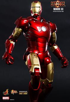 """""""I'm Iron Man."""" Marvel Studios' 2008 blockbuster movie, Iron Man, has pushed the popularity of the superhero and Robert Downey Jr. to a whole new level! Fans witnessed how Tony Stark built his armors and became Iron Man! Since then, Hot Toys has made a wide range of armor collectibles for its Iron Man Series. © 2014 Marvel. © 2014 Hot Toys Limited. All Rights Reserved.   Link:http://www.hottoys.com.hk/productDetail.php?productID=249"""