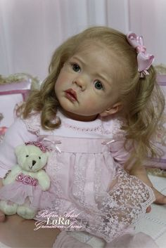 LoRa,the  toddler. Little Princess out kit Wilma by Karola Wigerich