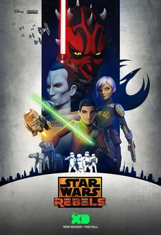 star wars rebels season 3 poster Star Wars Rebels Season 3 Trailer: Enter Grand Admiral Thrawn