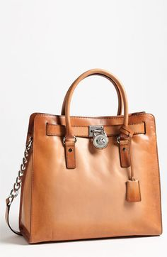 MICHAEL Michael Kors 'Hamilton Artisan - Large' Leather Tote available at #Nordstrom