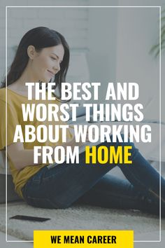 Do you want to work from home? Working from home and not having a long commute to your office can save a great deal of time and money. However, there are also downsides to it. Read our article to discover all the pros and cons of working remotely. Relationships Are Hard, Job Search Tips, Stress Relief Tips, Flexible Working, Easy Jobs, Self Discipline, Career Development, Work From Home Jobs, Working Moms