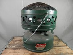 Vintage Coleman Heater Dome 511A Camping Hunting Fishing Portable Heater 5000 BTU Made in USA by WesternKyRustic on Etsy