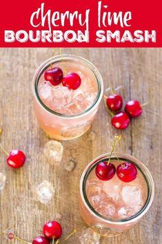 Cherry Lime Bourbon