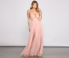 A stunning look for all your events including weddings, bridal showers, bridesmaids, bachelorette parties, and engagement shoots. Discover beautifully unique dresses and gowns for Prom 2021 including chiffon, glitter, sequin, satin, metallic, lace styles, and more. Accessorize with stiletto or block heels, purses and totes, necklaces and earrings, and shapewear. Special Occasion Dress yourself as the princess you are with our breath-taking Elisabeth dress! She is a floor-length evening gown with Mauve Dress, Tulle Dress, Satin Dresses, Sequin Dress, White Dress, Bridesmaid Dresses, Prom Dresses, Formal Dresses, Wedding Dresses