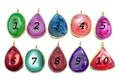 24 kt Gold Plated Druzy Pendants  1 piece of fine by finegemstone, $19.00