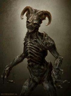 - Dark Creatures, Fantasy Creatures, Mythical Creatures, Dark Fantasy Art, Dark Art, Arte Horror, Horror Art, Images Terrifiantes, Arte Obscura