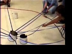 Maze -- Duct Tape Teambuilding Game - YouTube