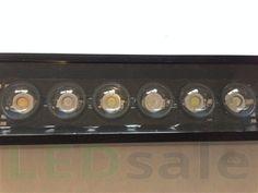 49,5cm Alumiini 18 x 3W Bridgelux LED Akvaario Kisko - LED Akvaariovalot