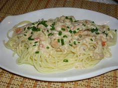 Gnocchi, Ham, Spaghetti, Menu, Ethnic Recipes, Food, Menu Board Design, Hams, Essen