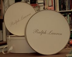 Ralph Lauren Hat Boxes
