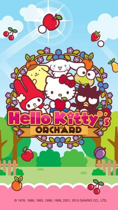 This looks like a fun cute game I have to try! Sanrio Wallpaper, My Melody Wallpaper, Friends Wallpaper, Hello Kitty Wallpaper, Sanrio Hello Kitty, Hello Kitty My Melody, Hello Kitty Pictures, Kitty Images, Little Twin Stars