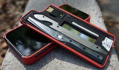 MyTask Urban iPhone Case With Multi Tools Stash - TSA Compliant