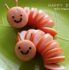 Creative food T. Cute Snacks, Snacks Für Party, Cute Food, Snacks Kids, Funny Food, Healthy Snacks, Food Art For Kids, Cooking With Kids, Food Kids