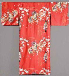 Kimono Maiko rot